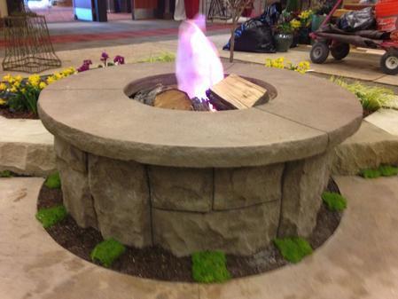 Concrete Artisans Concrete Fire Pit